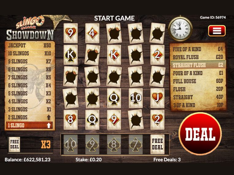 Spiele Slingo Showdown - Video Slots Online